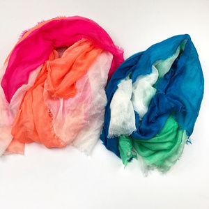 Old Navy | Tri Colored Scarves Bundle of Two